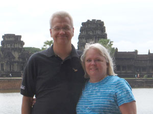Travel Agent Terri Hundt and hubby Jeff